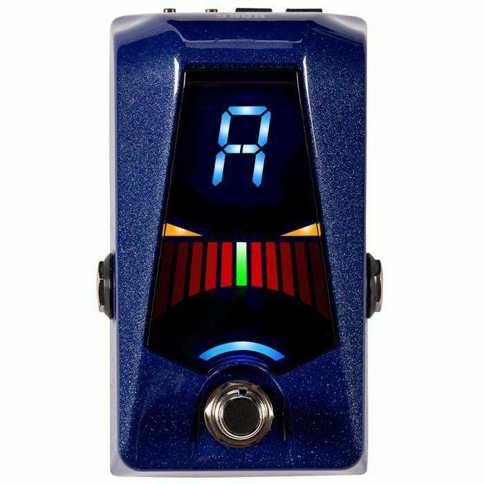 KORG - Korg Pitchblack Advance Pedal Guitar Tuner (sparkle blue)