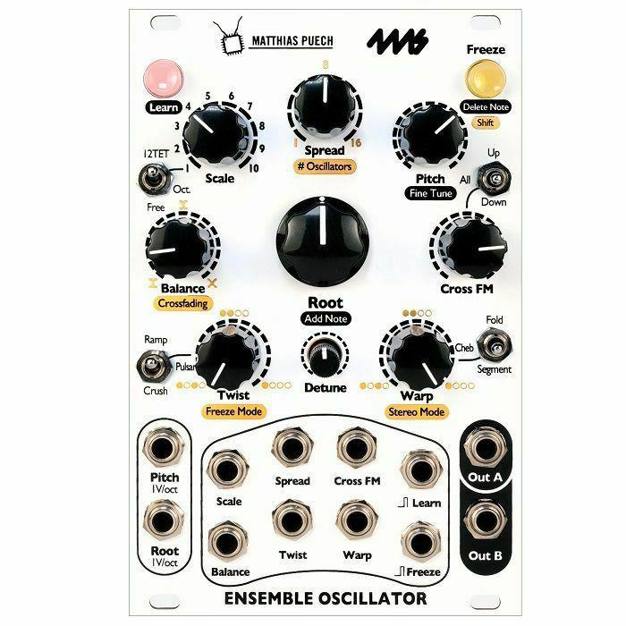 4MS - 4ms Ensemble Polyphonic Oscillator Module