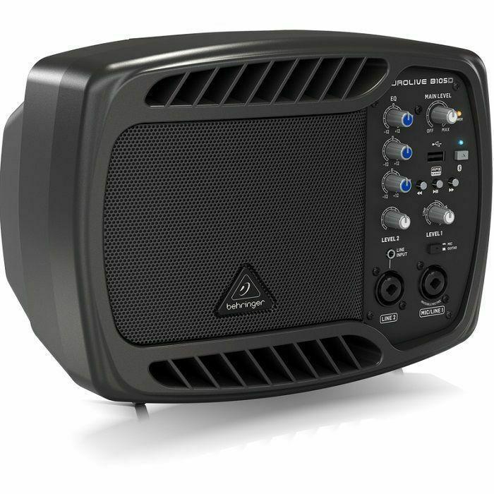 BEHRINGER - Behringer B105D Ultra-Compact 50-Watt PA/Monitor Speaker