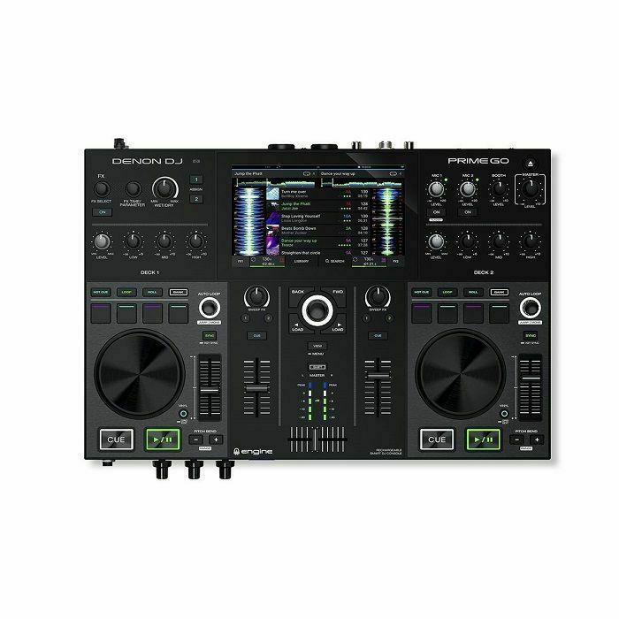 DENON - Denon Prime Go 2 Deck Rechargeable Smart DJ Console