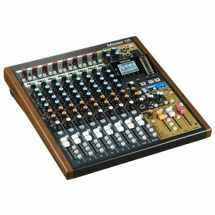TASCAM - Tascam Model 12 Digital Multitrack Recorder With 10 Channel Analogue Mixer & USB Audio Interface