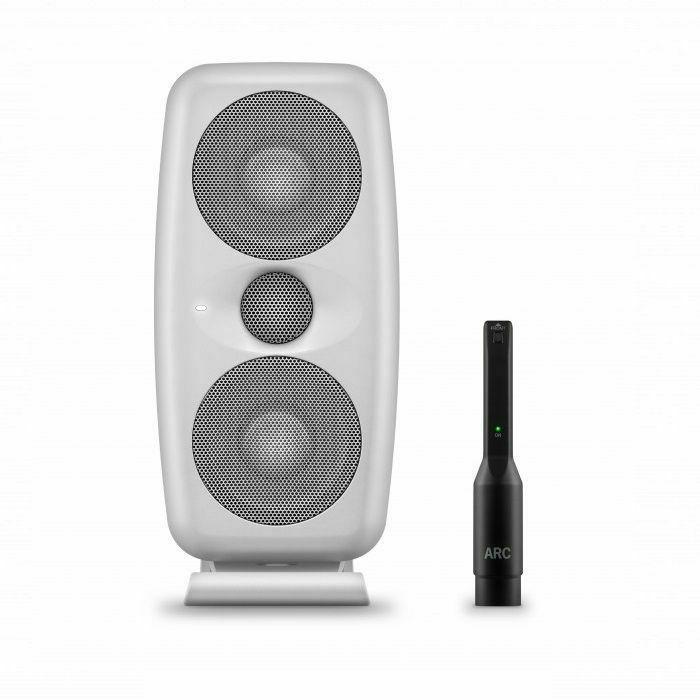 IK MULTIMEDIA - IK Multimedia iLoud MTM Powered Studio Reference Monitor With Measurement Microphone (single, white)