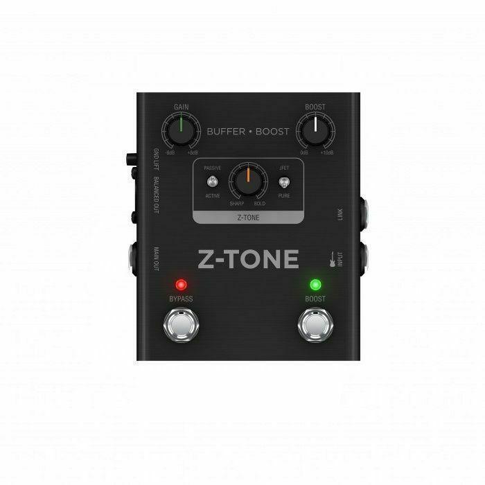 IK MULTIMEDIA - IK Multimedia Z Tone Buffer Boost Guitar & Bass Preamp & DI Pedal
