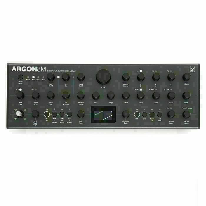 MODAL ELECTRONICS - Modal Electronics ARGON8M 8 Voice Polyphonic Wavetable Desktop Synthesiser Module