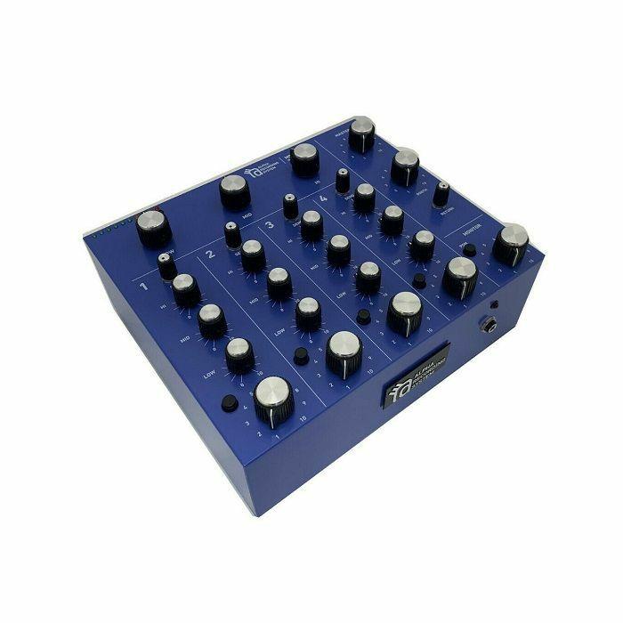 ALPHA RECORDING SYSTEM - Alpha Recording System ARS Model 9000 Rotary Tabletop DJ Mixer (blue violet)