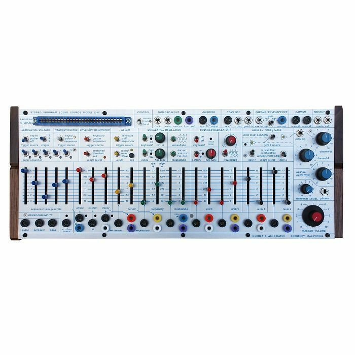 BUCHLA - Buchla Easel Command Desktop Modular Analogue Synthesiser