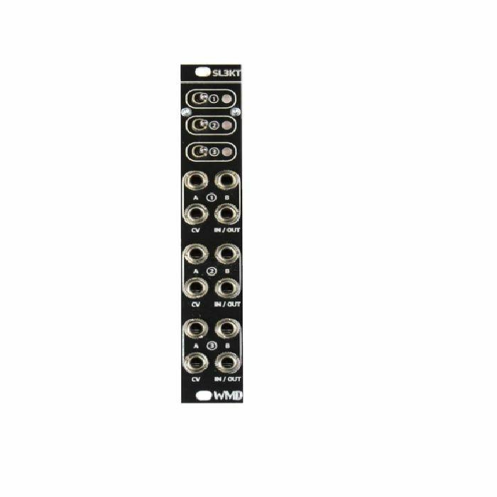 WMD - WMD SL3KT Three Channel Switch Module (black faceplate)