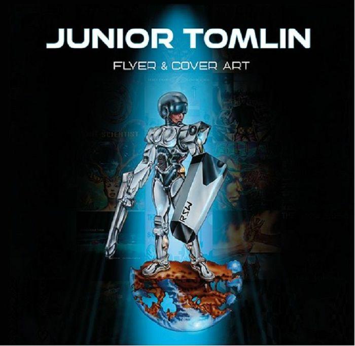 JUNIOR TOMLIN - Flyer & Cover Art by Junior Tomlin