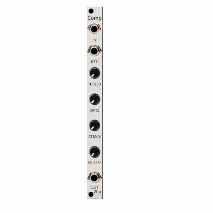2HP - 2hp Comp Module (silver faceplate)