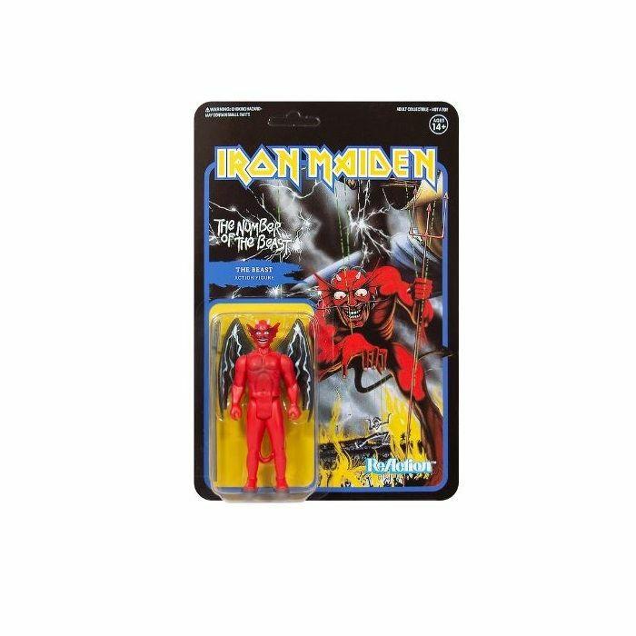 IRON MAIDEN - Iron Maiden: The Number Of The Beast Action Figure