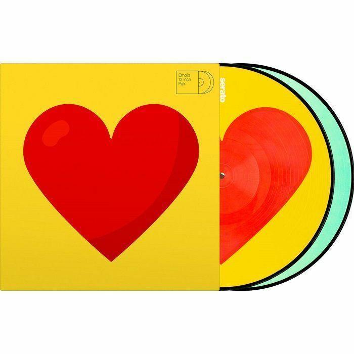 SERATO - Serato Reversible Emoji Picture Disc #3 Donut/Heart 12 Inch Control Vinyl (pair)