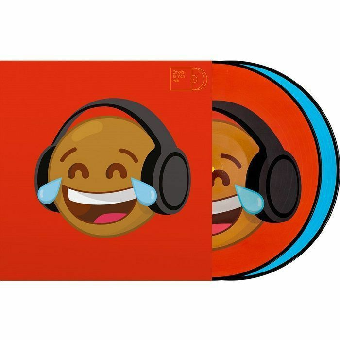 SERATO - Serato Reversible Emoji Picture Disc #4 Thinking/Crying 12 Inch Control Vinyl (pair)