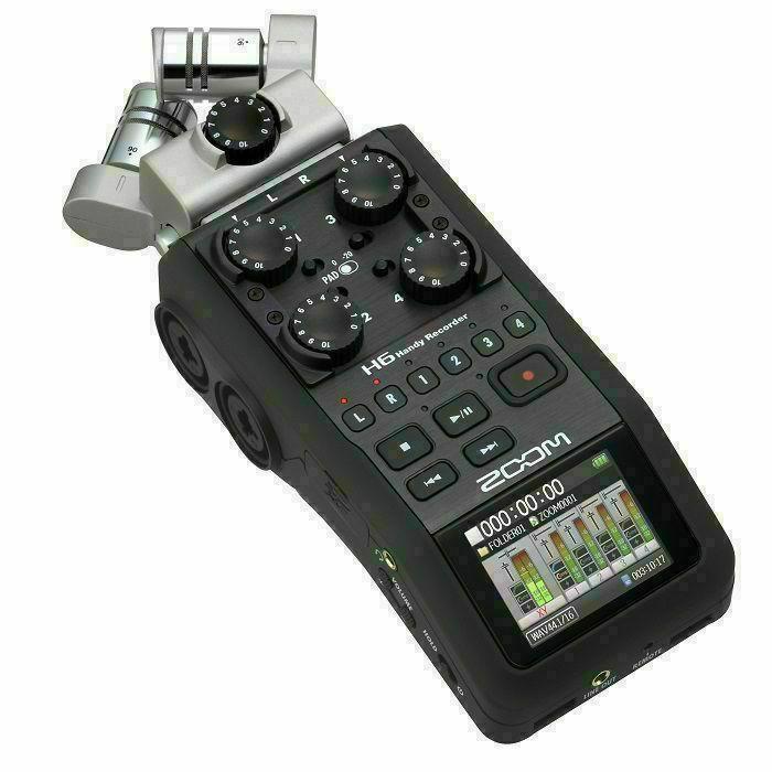 ZOOM - Zoom H6 Handy Recorder