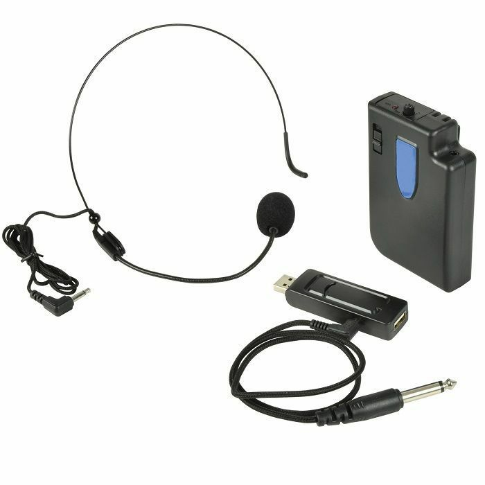 QTX - QTX U MIC Neckband UHF Microphone System 864.8MHz