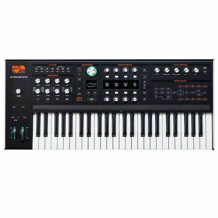 ASM - ASM Hydrasynth 8 Voice Wavetable Keyboard Synthesiser with Polytouch 49 Note Polyphonic Aftertouch Keybed