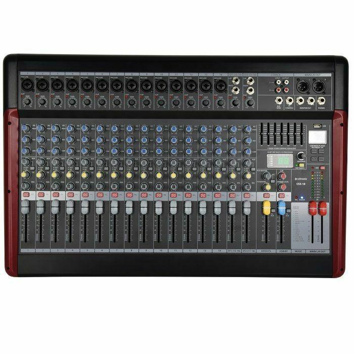 CITRONIC - Citronic CSX18 Series Live Mixing Console