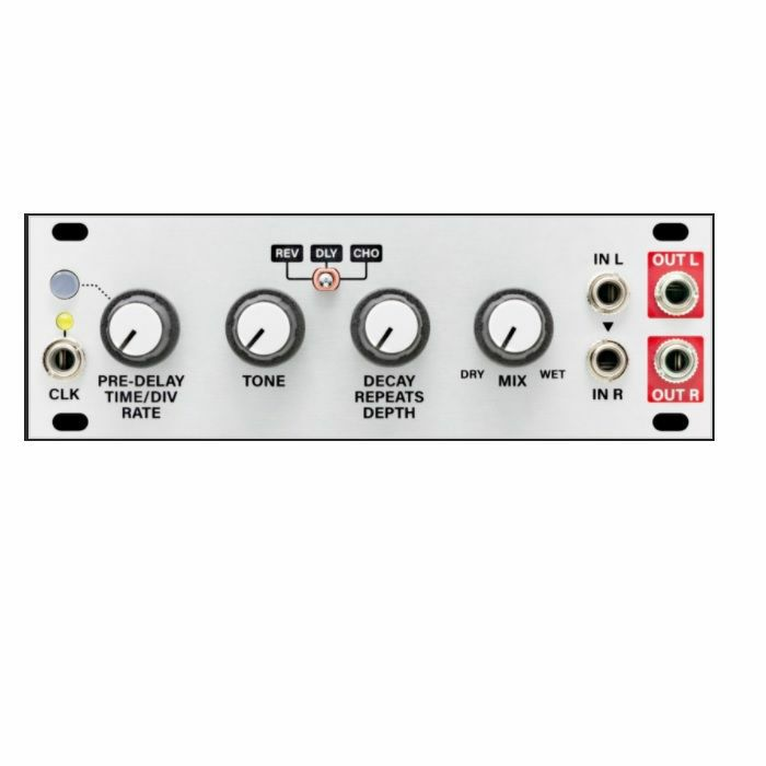 INTELLIJEL - Intellijel Multi FX 1U Clockable Delay Reverb & Chorus Effect Module