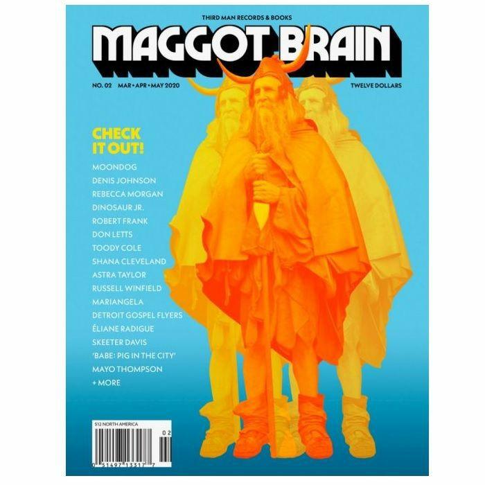 MAGGOT BRAIN/THIRD MAN RECORDS - Maggot Brain Magazine #2