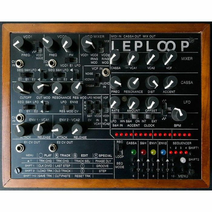 LEP - LEP Leploop Sequencer & Drum Machine Analogue Synthesiser