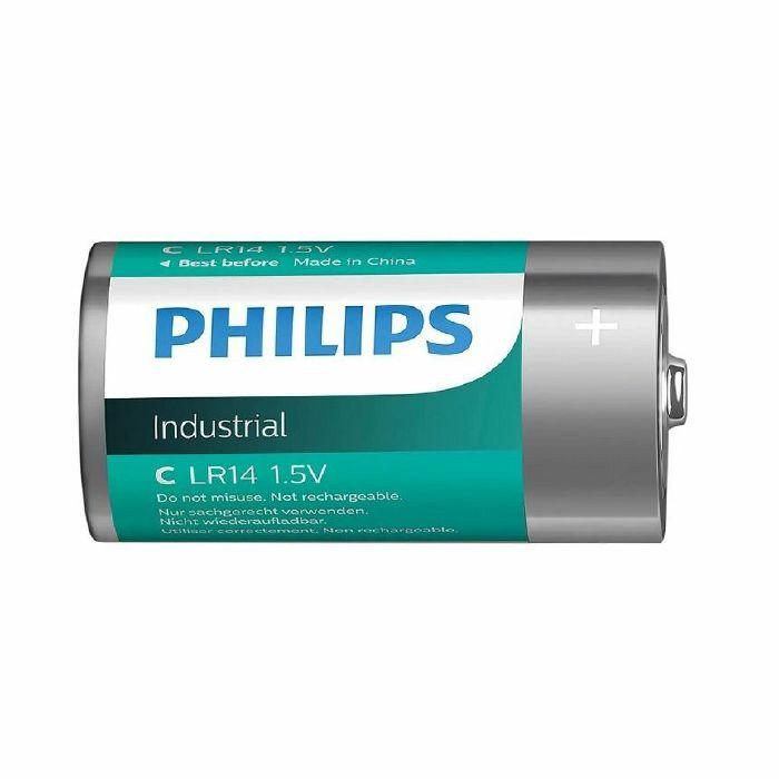 PHILIPS - Philips Industrial Alkaline Type C Batteries (box of 10)