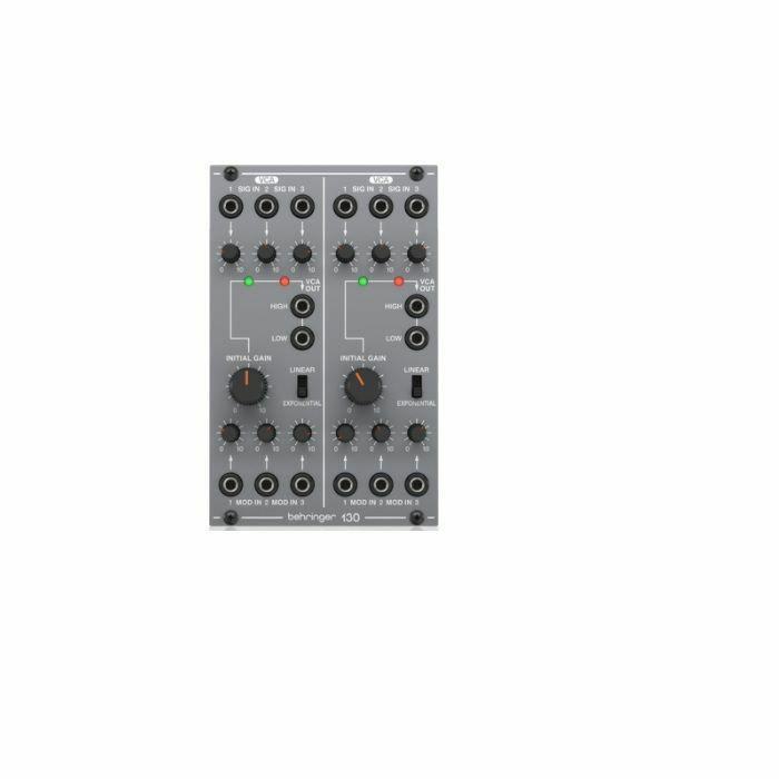 BEHRINGER - Behringer 130 Dual VCA Module