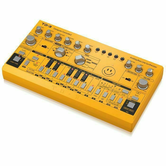BEHRINGER - Behringer TD3 AM Analogue Bass Line Synthesiser (yellow)