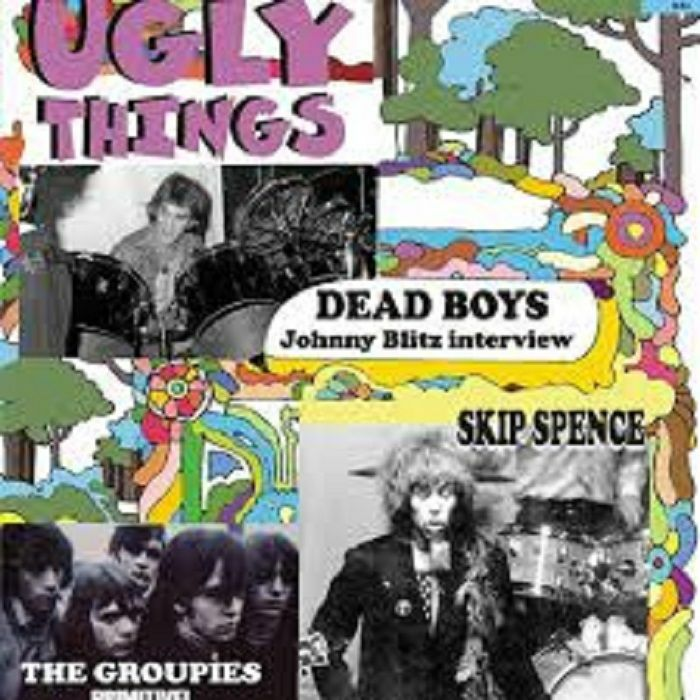 UGLY THINGS - Ugly Things Magazine Issue #53 Spring 2020 (feat Dead Boys, The Groupies, Skip Spence)
