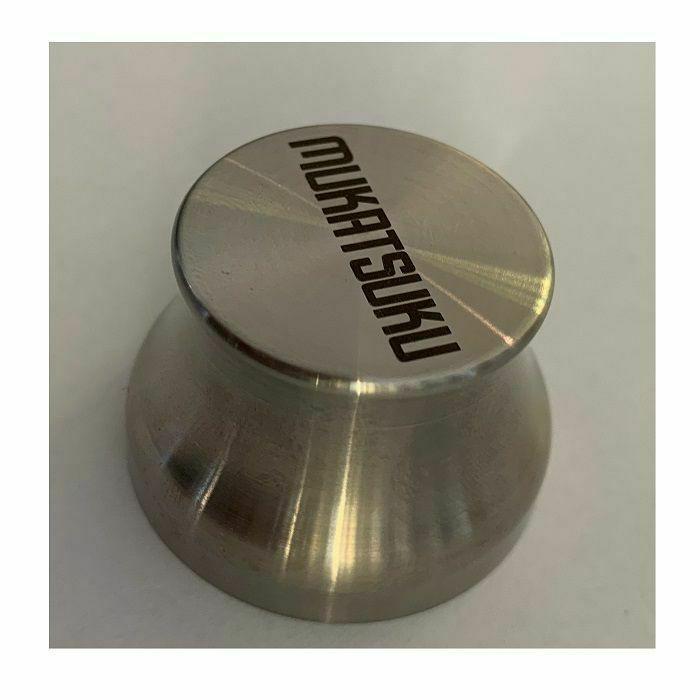 MUKATSUKU - Mukatsuku Classic Stainless Steel Version #3 45 Adapter: Straight Font Logo Design Edition (Juno exclusive)