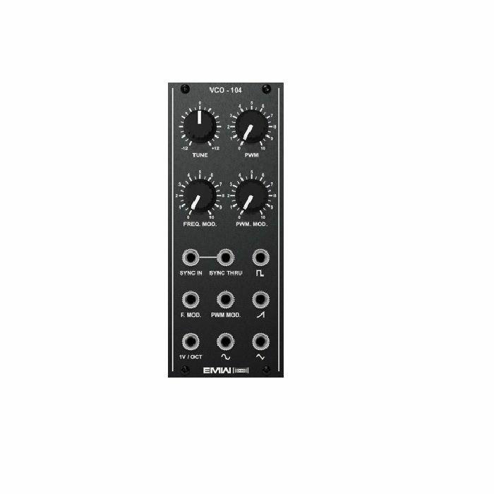 EMW - EMW VCO104 Analog Voltage Controlled Oscillator Module (black faceplate)