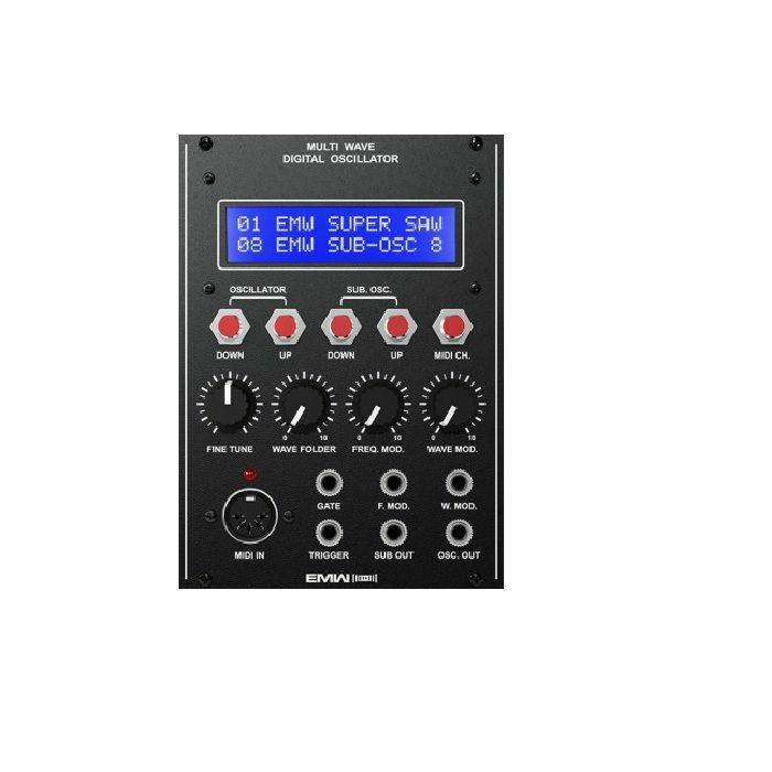 EMW - EMW Multiwave Digital Oscillator Module (black faceplate)