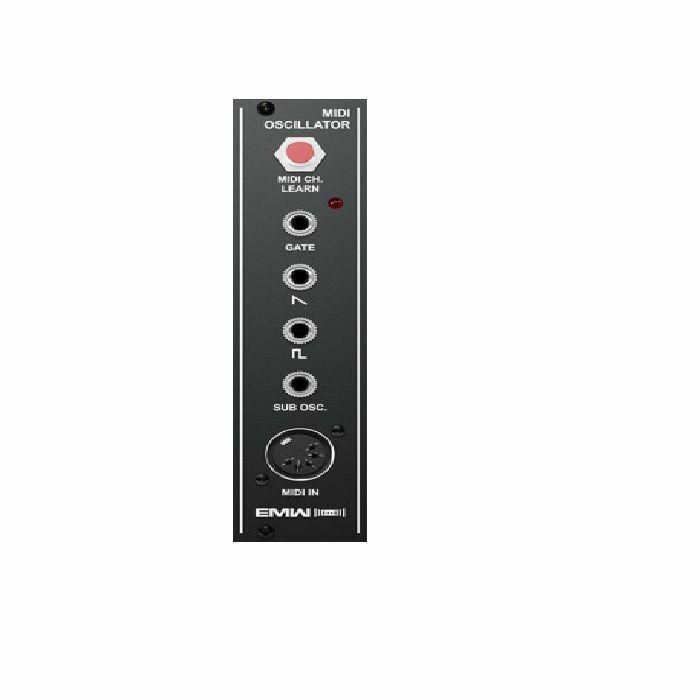 EMW - EMW MIDI Oscillator Module (black faceplate)