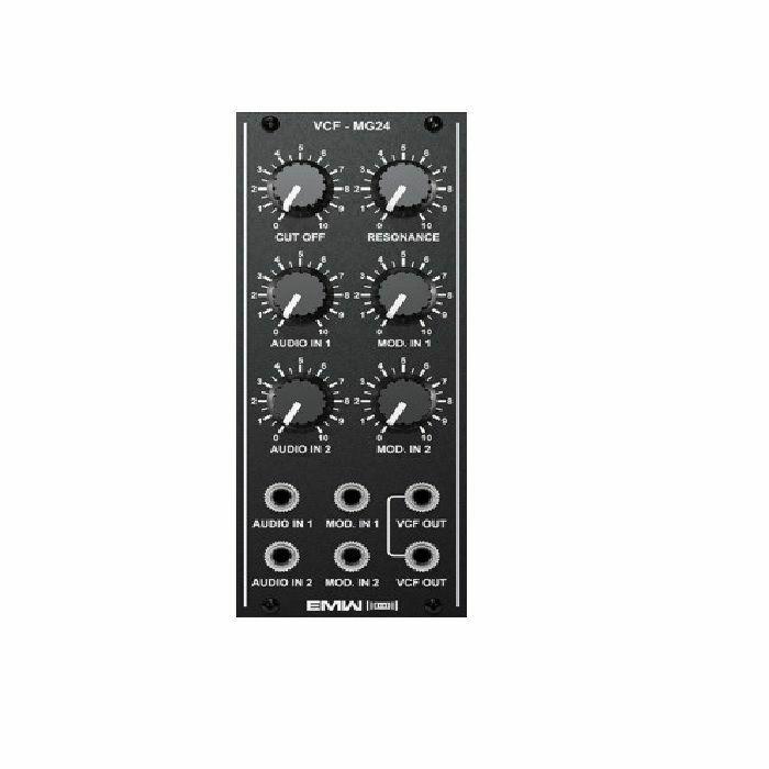 EMW - EMW Voltage Controlled Filter MG24 Module (black faceplate)