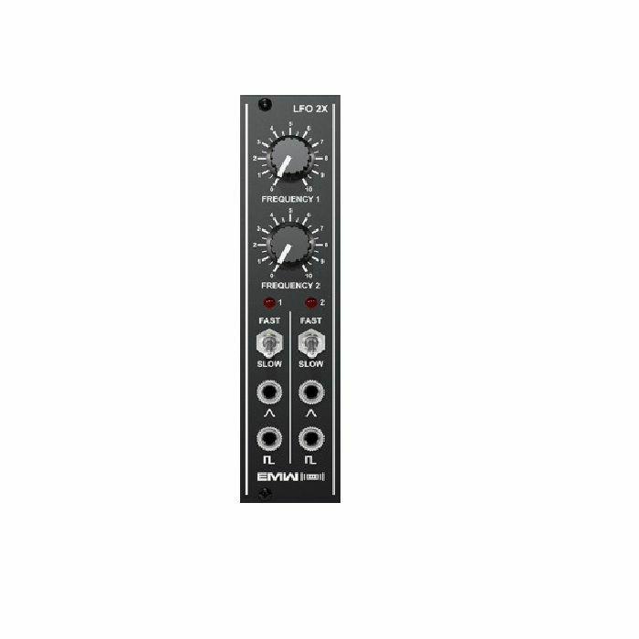 EMW - EMW Dual Low Frequency Oscillator Module (black faceplate)