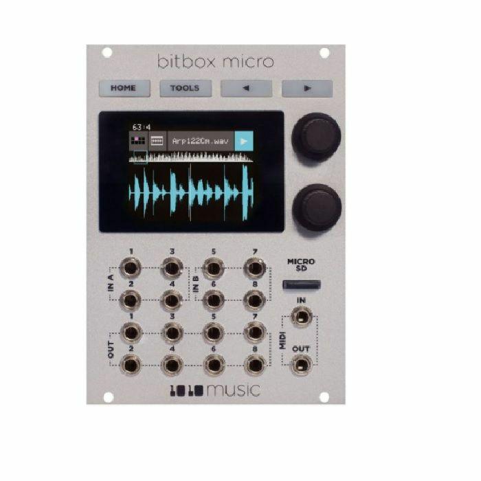 1010 MUSIC - 1010 Music Bitbox Micro Compact Sampling Module