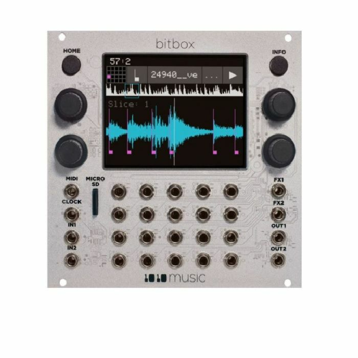 1010 MUSIC - 1010 Music Bitbox Mk2 Intuitive Sampling Module