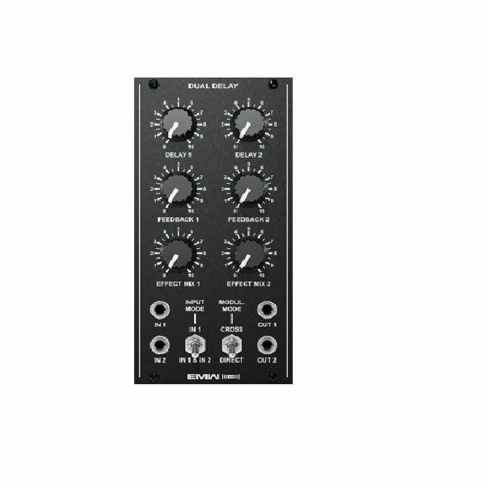 EMW - EMW Dual Delay Module (black faceplate)