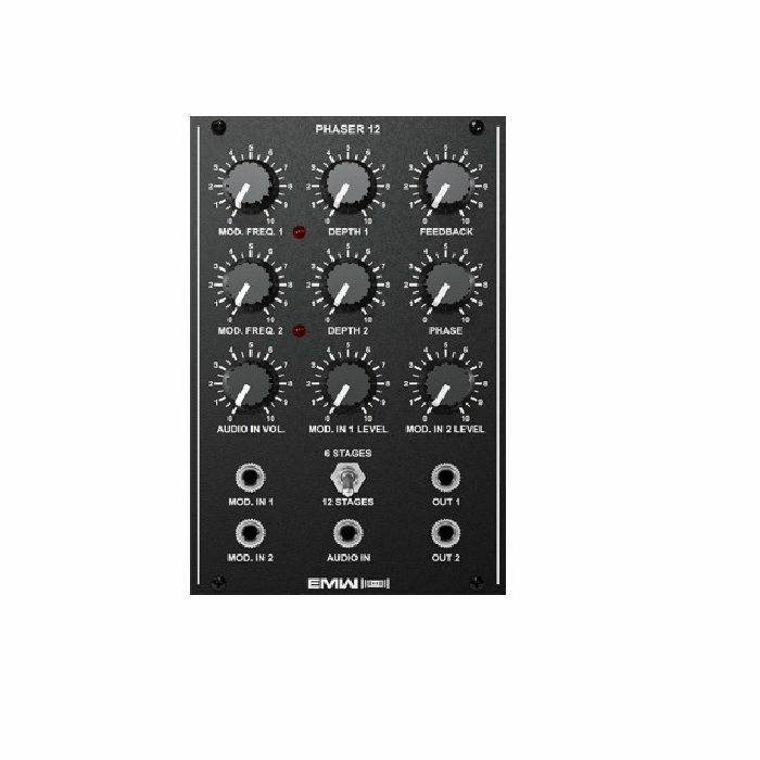 EMW - EMW Phaser 12 Analogue Phase Shifter Module (black faceplate)