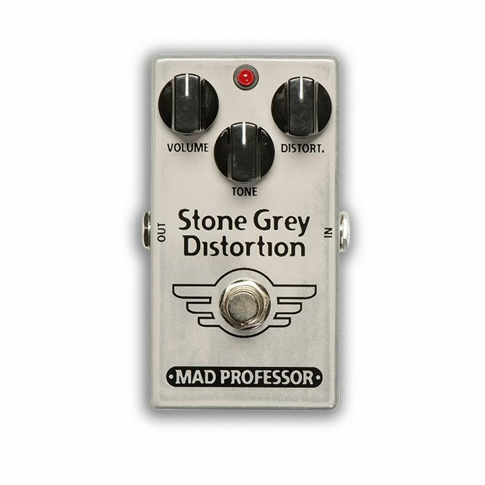 MAD PROFESSOR - Mad Professor Stone Grey Distortion Modernised Mod Limited Edition Pedal