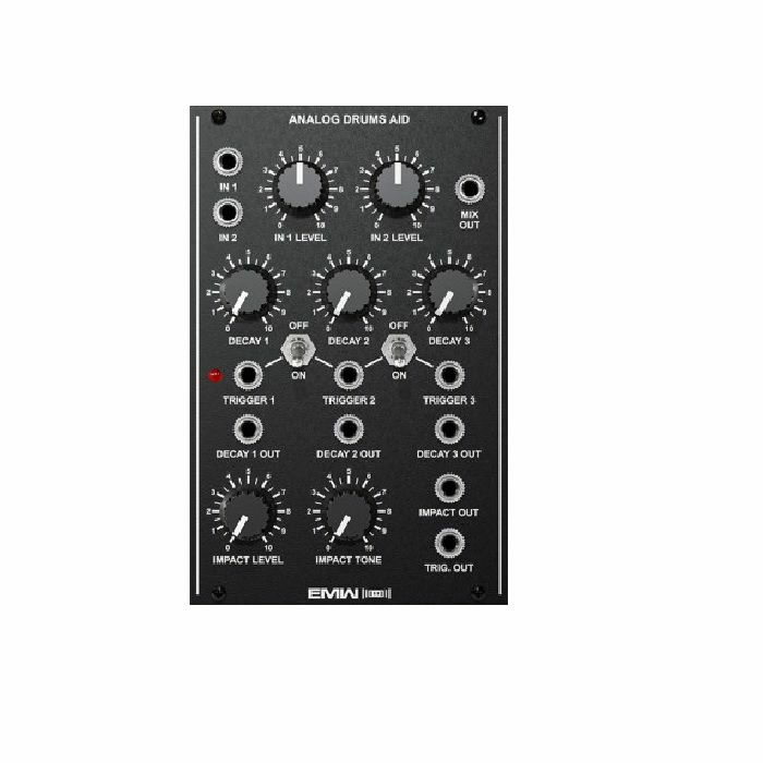 EMW - EMW Analog Drums Aid Module (black faceplate)