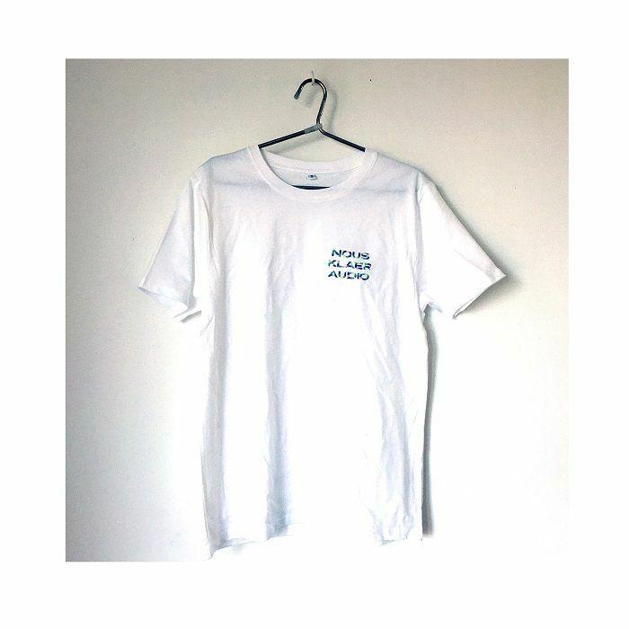 NOUS KLAER AUDIO - Nous Klaer Audio White T-shirt With Embroidered Multicolour Logo (medium)