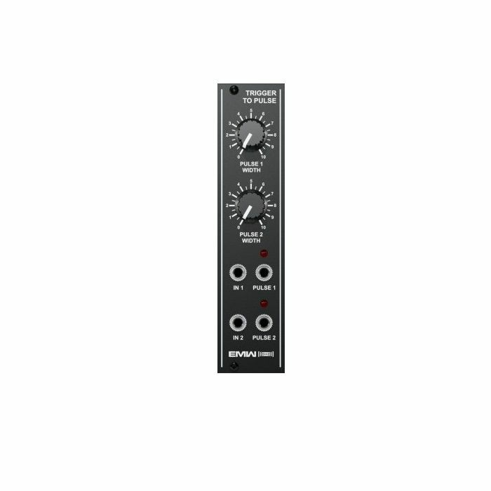 EMW - EMW Trigger To Pulse Module (black faceplate)