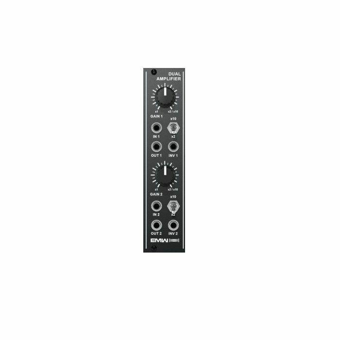 EMW - EMW Dual Amplifier Module (black faceplate)
