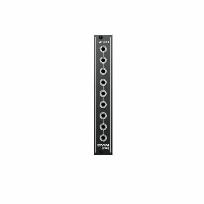 EMW - EMW Patch 1 Module (black faceplate)