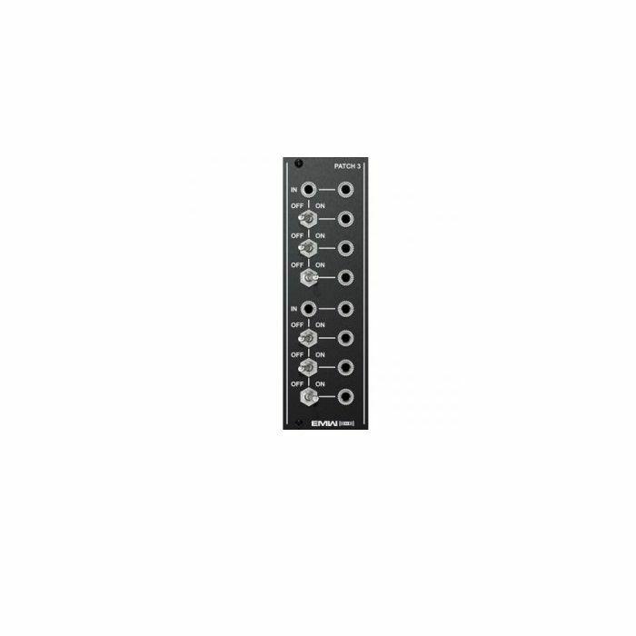 EMW - EMW Patch 3 Module (black faceplate)