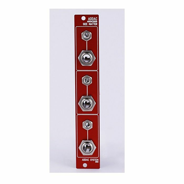 ADDAC SYSTEM - ADDAC System ADDAC200S Size Matter Module (red faceplate)
