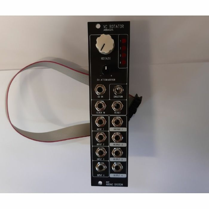 ADDAC SYSTEM - ADDAC System ADDAC214 VC Rotator Module (red faceplate)