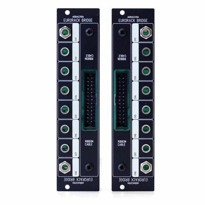 ADDAC SYSTEM - ADDAC System ADDAC213A Eurorack Bridge Module (black faceplate)