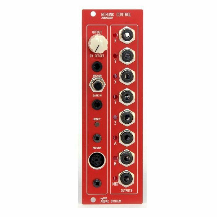ADDAC SYSTEM - ADDAC System ADDAC302 Nchunk Control Module (red faceplate)