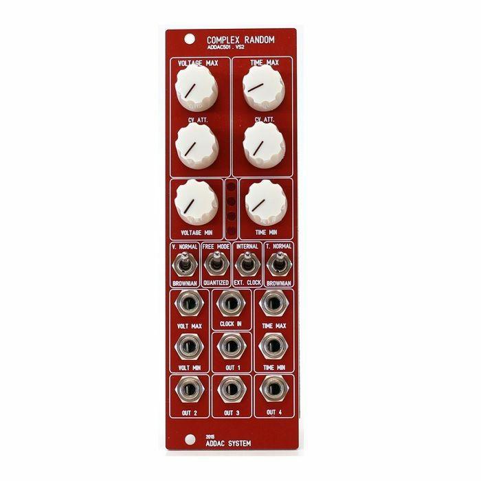 ADDAC SYSTEM - ADDAC System ADDAC501 Complex Random Module (red faceplate)