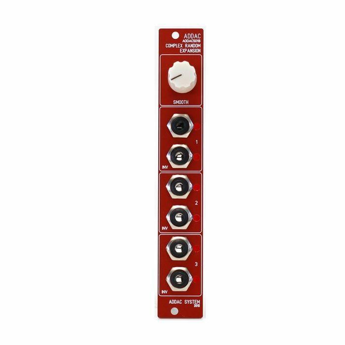 ADDAC SYSTEM - ADDAC System ADDAC501B Complex Random Expansion Module (red faceplate)